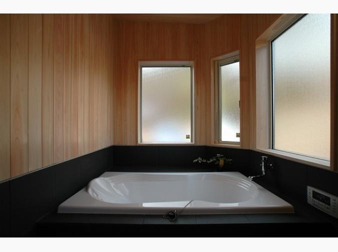 木族の家の施工写真